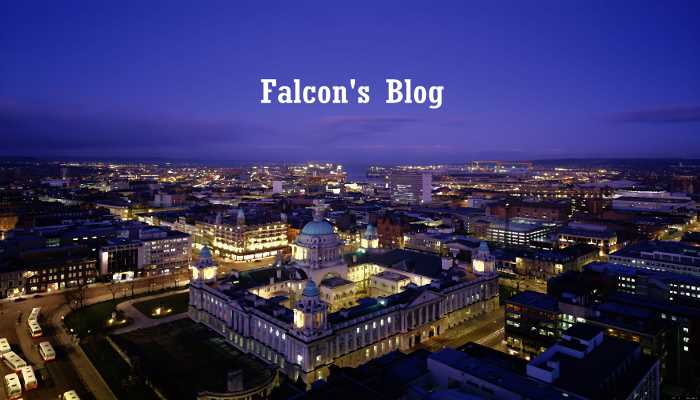Falcon's Blog- Belfast Advert