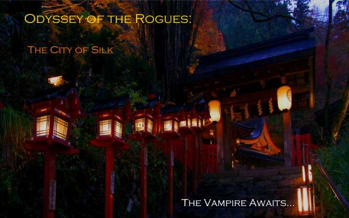 Odyssey of the Rogues: City of Silk Advert