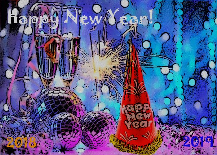 Happy New Year 2018-2019!