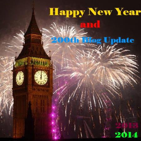 Happy New Year and 200th Blog Update