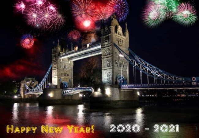 Happy New Year 2020 -2021!